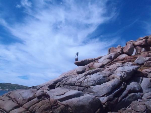 "Hogan Island, ""Clean Across Bass Strait"", 2011"