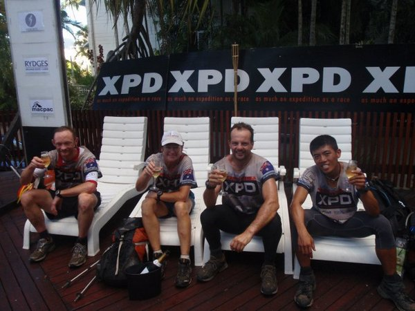 XPD 2010 Cairns, the finish line